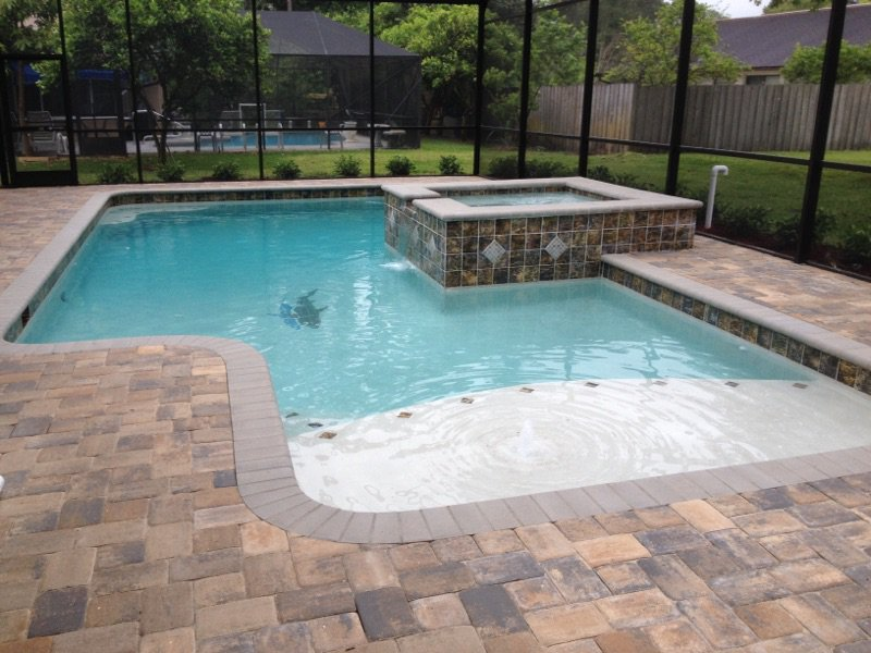 SHOCK THE POOL AFTER HEAVY USAGE OR HEAVY RAINFALL